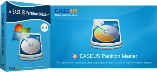 EASEUS Partition Master 12.10