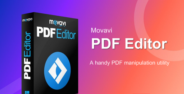 Movavi PDF Editor 3.2.0 Crack Windows For Mac All Full Version 2021