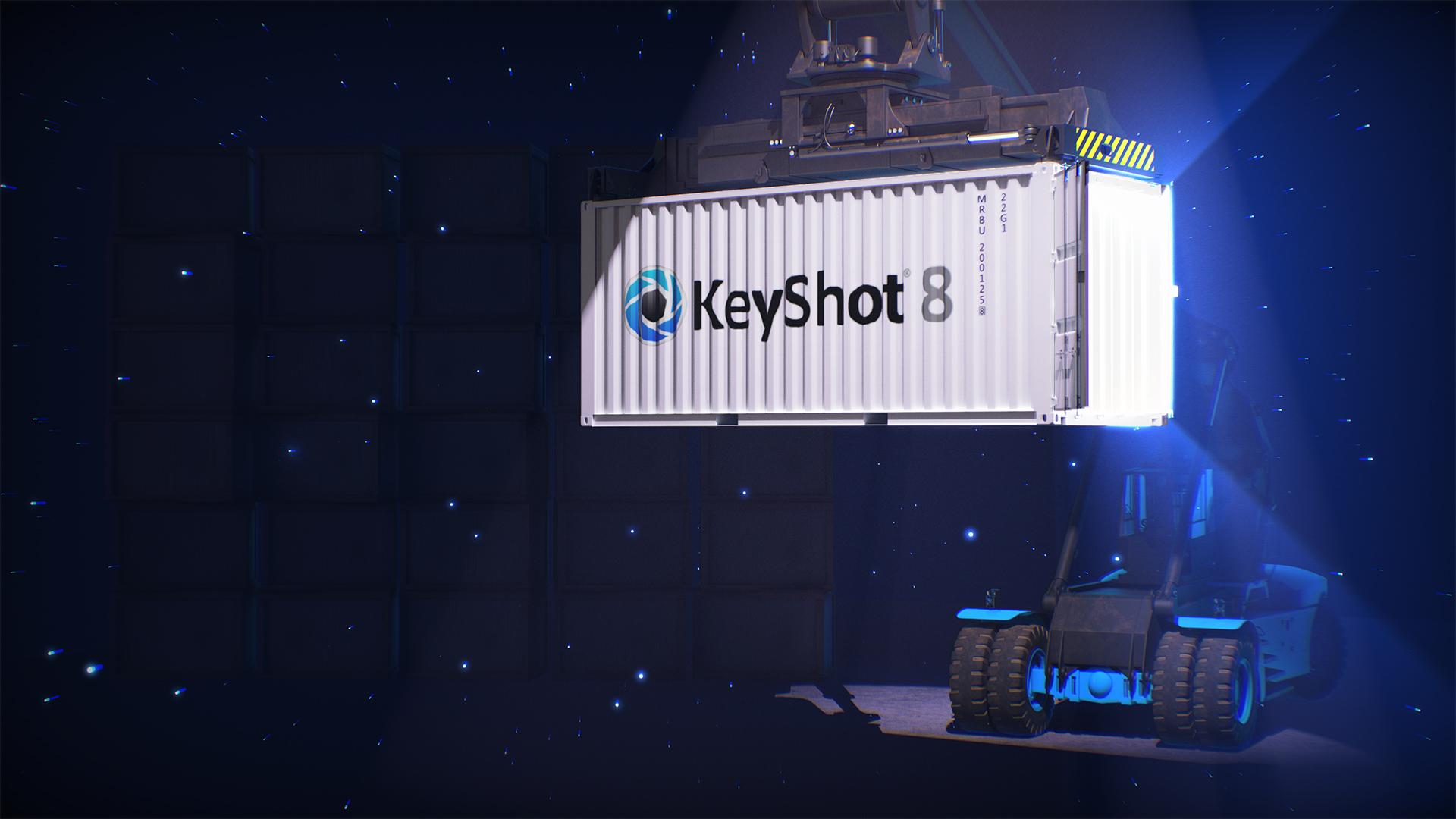 keyshot 8