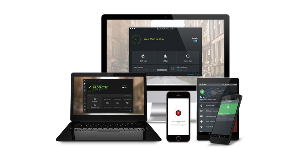 Bitdefender Total Security 2019 Build 23.0.22.97 crack
